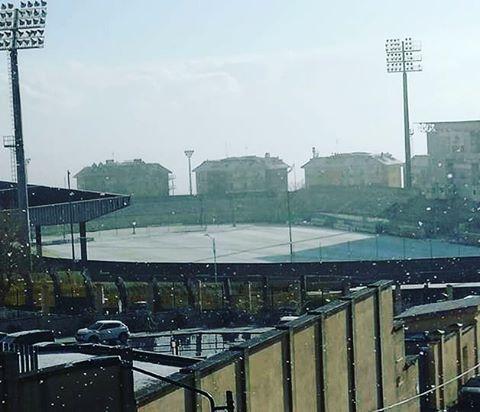 Gelo e neve in Calabria, primi fiocchi anche a Reggio Calabria