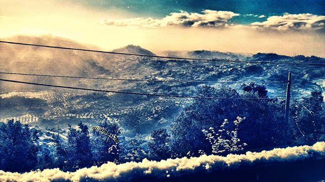 Neve in Calabria: fiocchi caduti anche nelle città