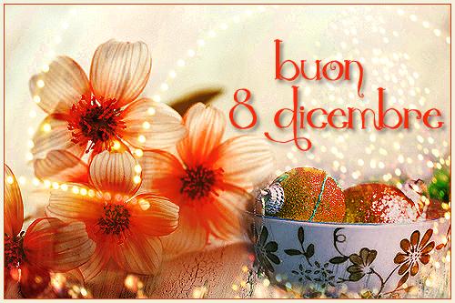 Buona Festa dell'Immacolata 8 dicembre
