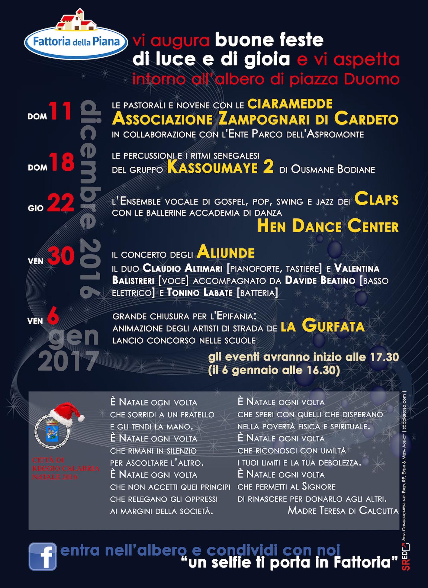 Calendario Concerti Calabria.Reggio Calabria Fattoria Della Piana Da Domani Un Ricco
