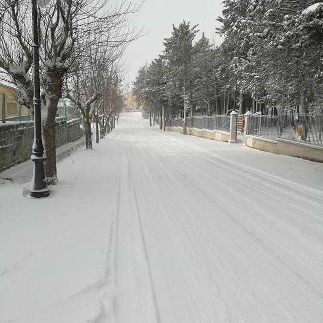 La neve in Basilicata