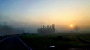 pianura padana nebbia