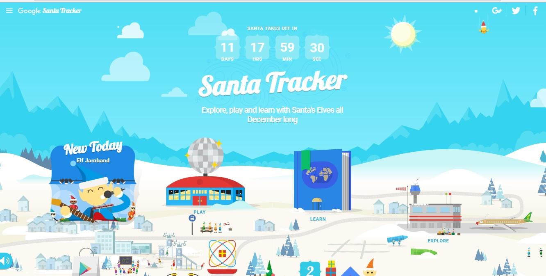 Percorso Babbo Natale.Natale Google Segue Il Viaggio Di Babbo Natale Con Il Santatracker