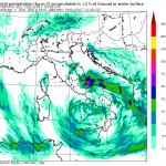 Allerta Meteo, ciclone nel basso Tirreno: gelo su Nord e Sardegna, tanta neve nelle Regioni Adriatiche e al Sud [MAPPE]