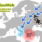 """Allerta Meteo """"Burian della Befana"""", storica ondata di Neve e Gelo in arrivo sull'Italia: tutti i dettagli Regione per Regione e Città per Città"""