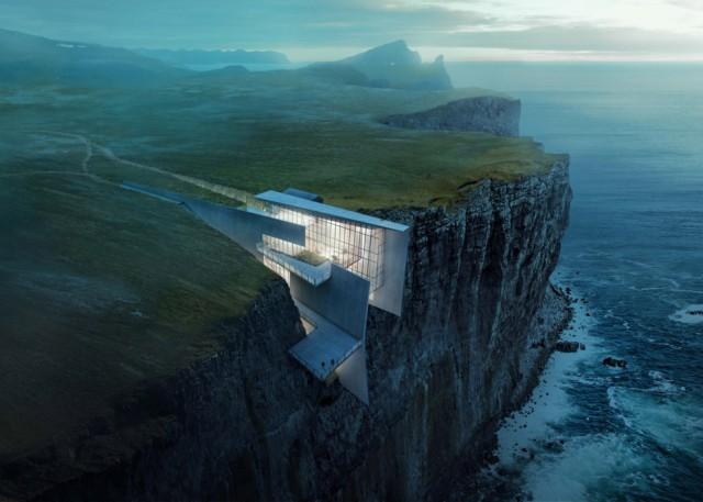 La surreale casa nella roccia dell'artista Alex Hogrefe [GALLERY]