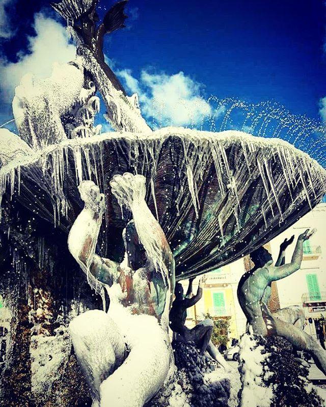 Roma, la Fontana dei Tritoni