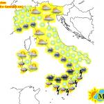 Allerta Meteo, attenzione a Martedì 10 e Mercoledì 11: ciclone sul Tirreno, tanta neve in tutt'Italia e soprattutto al Sud [MAPPE]