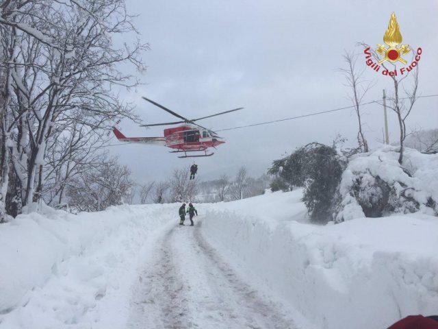 Home Cronaca Terremoto: elicotteri Vigili Fuoco non volano di notte