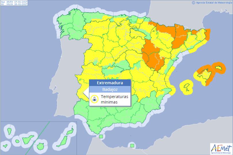 Spagna E Isole Baleari Cartina.Meteo Ondata Di Freddo In Spagna Nevica Alle Isole Baleari Ed A Valencia