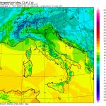 Previsioni Meteo Weekend, Domenica 12 Febbraio con qualche pioggia al Nord/Ovest e nel versante Jonico dell'estremo Sud, temperature in aumento [MAPPE]