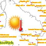 Caldo senza precedenti al Centro/Sud, record stravolti dall'Abruzzo alla Calabria. Adesso attenzione ai temporali [LIVE]