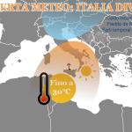 Allerta Meteo, ultime ore di super caldo al Sud, a seguire violenti temporali spazzeranno l'Italia