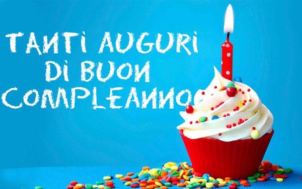 Preferenza Buon Compleanno: ecco le FRASI da condividere su WhatsApp e  FA84