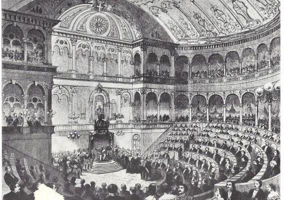 Accadde oggi il 18 febbraio 1861 nasce il regno d 39 italia for Notizie parlamento italiano