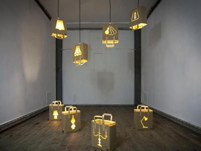 Lampade in carta riciclata al fuori salone l arte sposa l