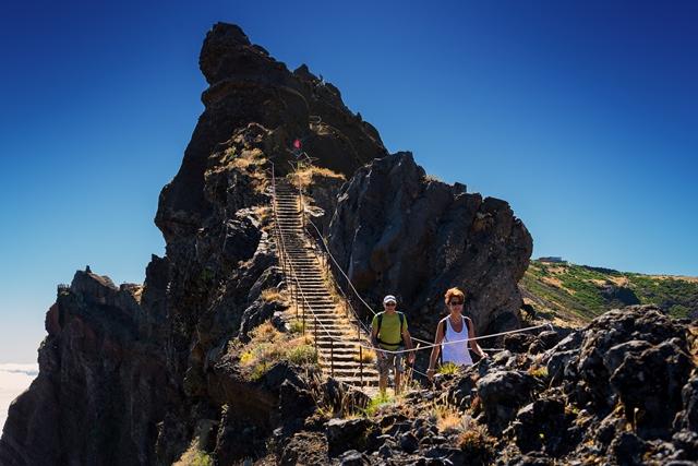 Uno dei walking tour di Madeira
