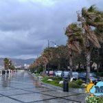 Maltempo nel giorno della Festa della Donna, a Reggio Calabria è tornato l'inverno [GALLERY]