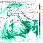 Allerta Meteo, violentissimo fronte temporalesco al Sud: allarme alluvione in Calabria tra oggi pomeriggio e domani [MAPPE]