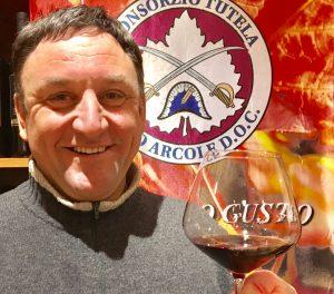 Roberto Pasini, presidente della Strada del Vino Arcole