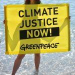 G7 Taormina: protesta di Greenpeace contro i cambiamenti climatici [GALLERY]
