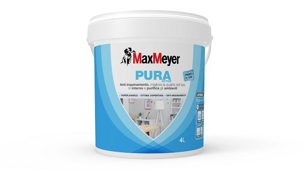Colori Per Esterni Max Meyer : Maxmeyer pura active ecco la pittura anti inquinamento da interno