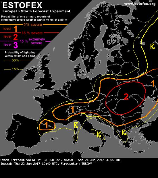 Allerta Meteo, altra giornata di maltempo estremo in Europa