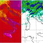 Allerta Meteo, situazione estrema sull'Italia: Paese spaccato a metà, piogge alluvionali al Nord e caldo africano al Sud [LIVE]