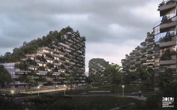 Liuzhou: ecco le spettacolari immagini della Città Foresta che contrasta lo smog [GALLERY]
