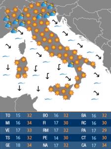 mappa meteoweb domenica (72H)