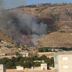 Caldo e incendi, giornata drammatica al Sud: ore di fuoco, opprimente cappa africana [DATI e FOTO LIVE]