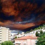 Incendio in deposito rifiuti di Alcamo, il sindaco: evitare di stare all'aperto, stop al consumo di frutta e verdura