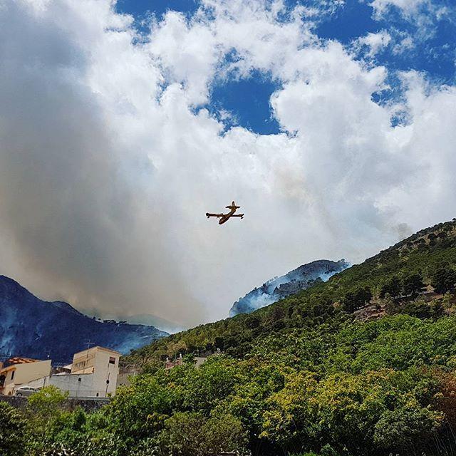 incendio sicilia castellammare del golfo oggi 01