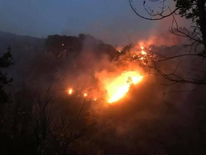 incendio vesuvio torre del greco (7)