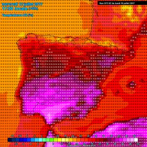 previsioni meteo spagna super caldo mercoledì 12 luglio