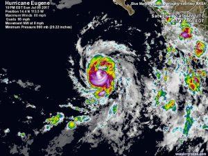 uragano eugene