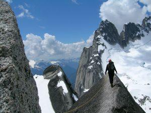 La catena montuosa Bugaboos in Canada