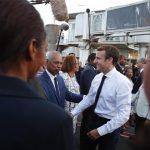 """Uragano Irma, Macron ai Caraibi: """"Impossibile prevedere quel che non è prevedibile"""" [FOTO]"""