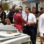 "Uragano Irma, Macron nelle isole devastate: ""L'avvenire è già qui"" [GALLERY]"