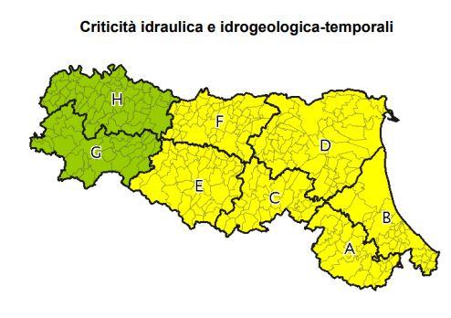Allerta meteo gialla in emilia romagna in arrivo temporali di forte intensit meteo web - Meteo it bagno di romagna ...