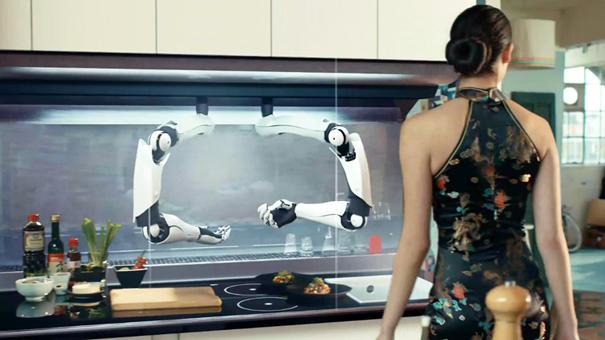 Incredibile robot chef: cucina per voi come un cuoco stellato ...