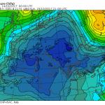 Uragano Ophelia, paura in Europa: MAPPE impressionanti, pressione e venti a fondoscala