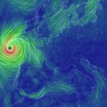 Uragano Ophelia: imminente il passaggio sulle isole Azzorre, poi arriverà in Europa nel giro di 48 ore. Gli aggiornamenti e le mappe