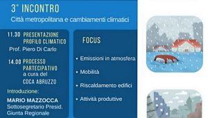 Cambiamenti climatici: Venerdì 20 ottobre Open Day all'Aurum di Pescara