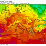 L'Uragano Ophelia spinge un Super Anticiclone sull'Europa: caldo senza precedenti, sfondati i +30°C anche in Italia!