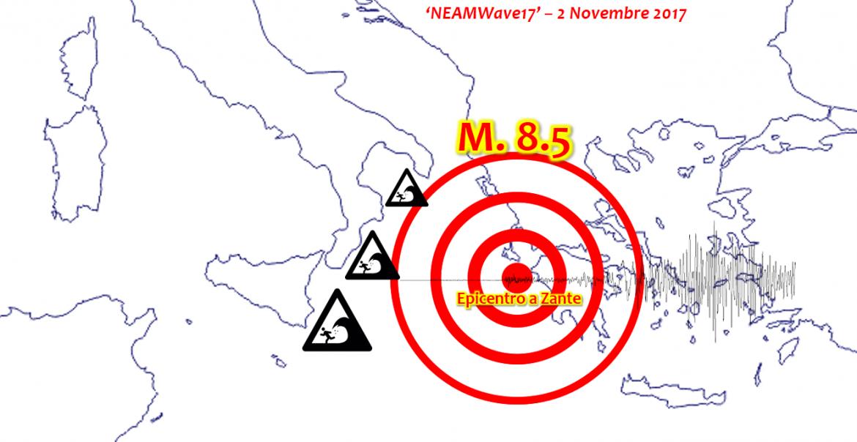 terremoto zante tsunami sud italia