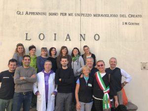 Oggi Vienna Cammarota  arrivata a piedi a Firenze
