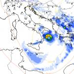 """Allerta Meteo, gli ultimi aggiornamenti sull'Uragano """"Numa"""" nel mar Jonio sono impressionanti: sarà un Venerdì 17 davvero terribile, Puglia e Calabria a rischio [MAPPE]"""