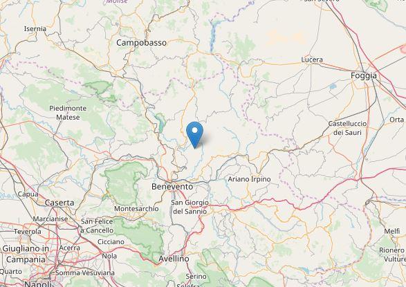 terremoto Benevento Pago Veiano