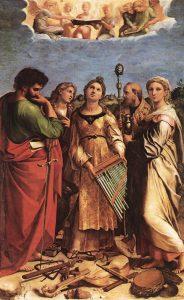 Santa Cecilia: rappresentazioni artistiche, letterarie e musicali